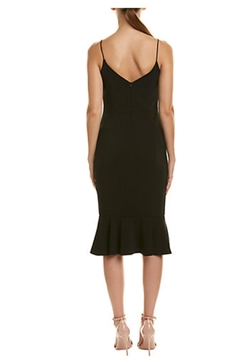 Issue New York Black Ruffle Sheath Mini - Alternate List Image