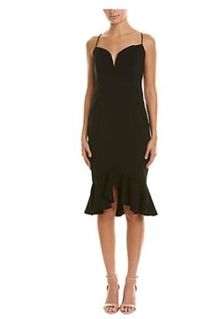 Issue New York Black Ruffle Sheath Mini - Product List Image
