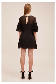 Keepsake Black Ruffled Mini - Front full body