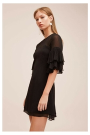 Keepsake Black Ruffled Mini - Side cropped