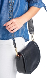 Two Neighbors Black Saddle Bag - Product Mini Image
