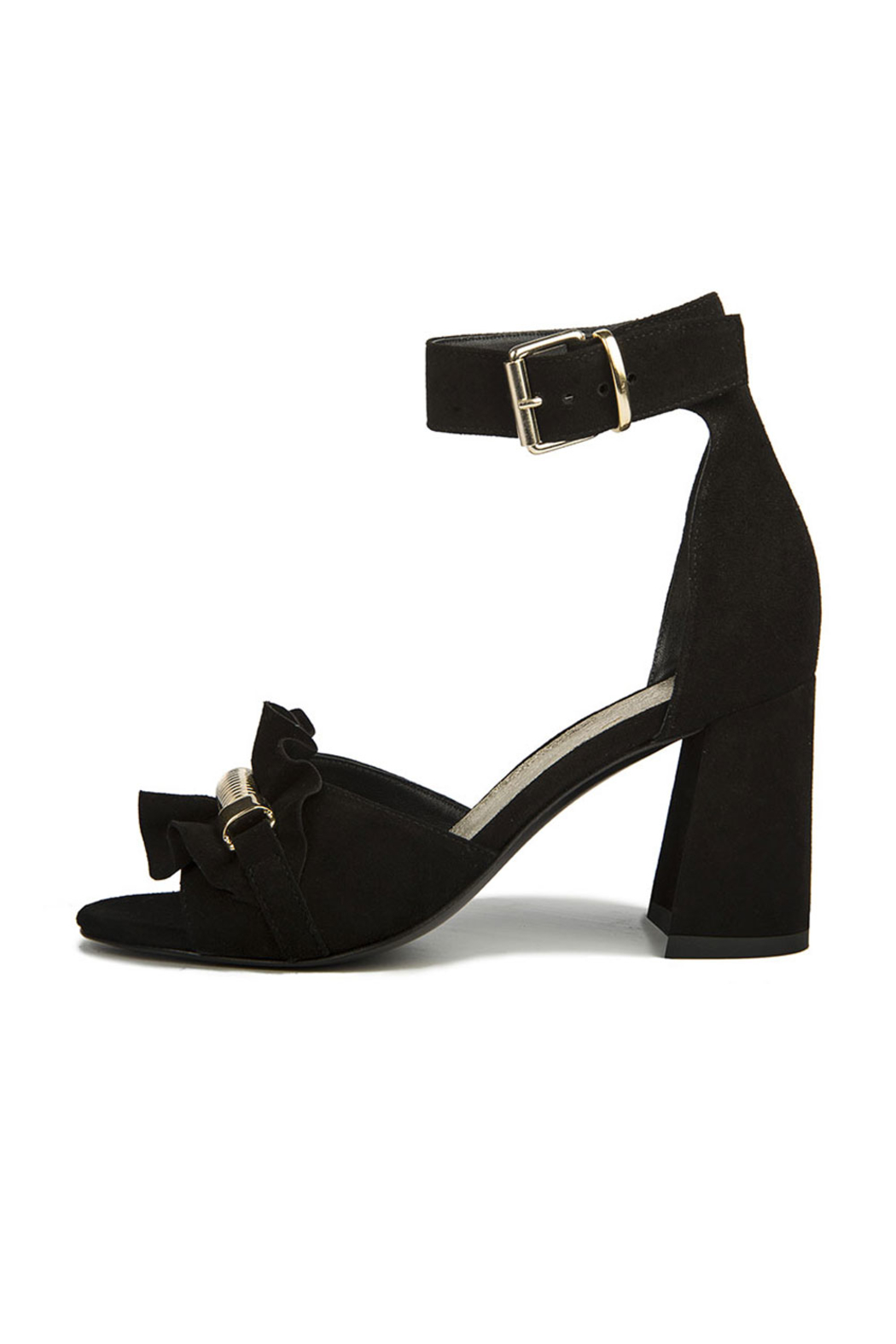 Le DangeRouge Black Sandals - Main Image