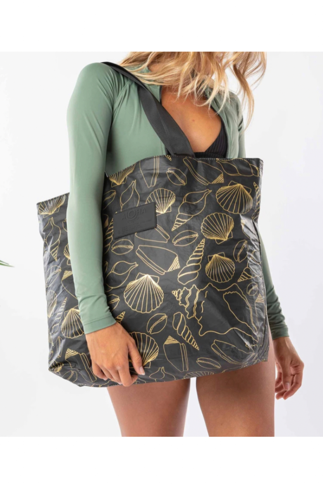 Aloha Collection Black Seashore Day Tripper - Front Full Image