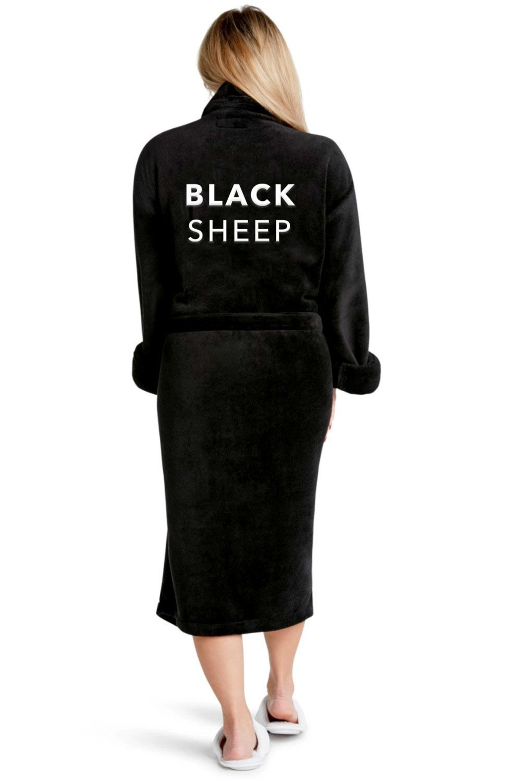 LA Trading Co. Black Sheep Robe - Front Cropped Image