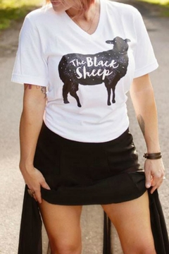 Ruby's Rubbish Black Sheep Tee - Product List Image