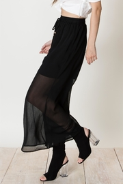 HYFVE Black Sheer Skirt - Product Mini Image