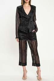 Latiste Black Sheer Suit - Product Mini Image