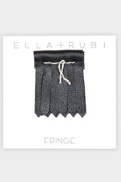 Fringe You Black Shoe Fringe - Alternate List Image