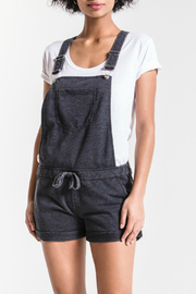 z supply Black Short Overalls - Product Mini Image