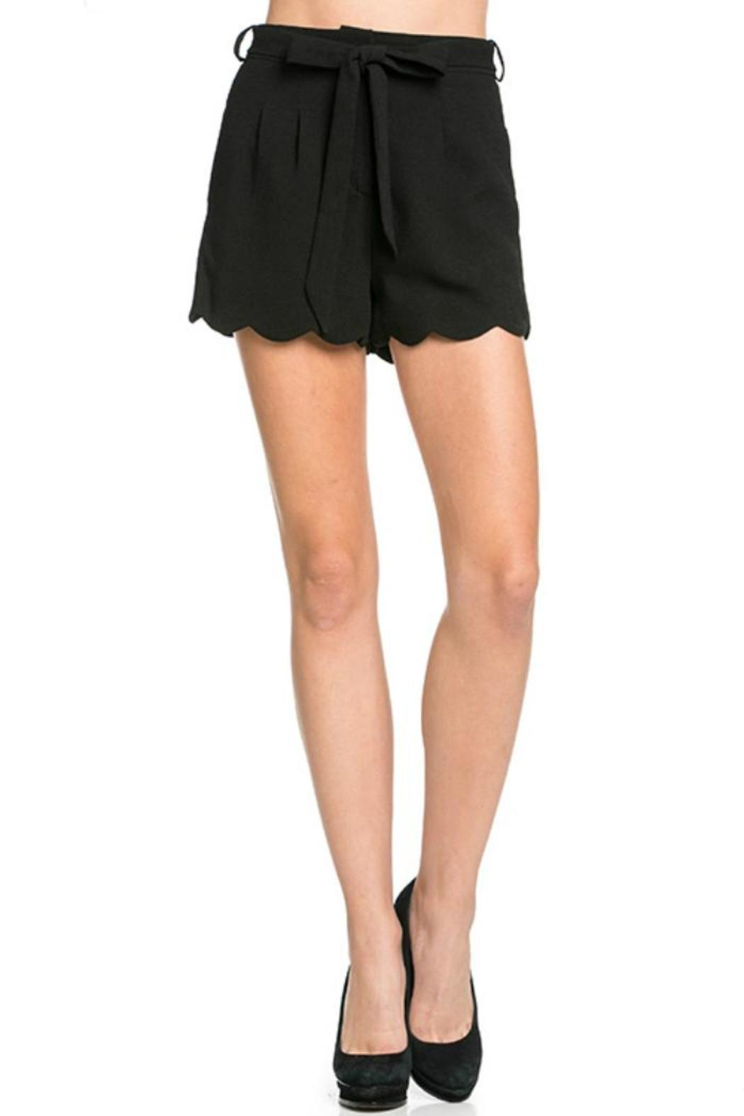 Mittoshop Black Shorts - Main Image