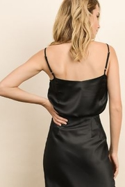 Dress Forum  Black Silk Lace Cami - Front full body