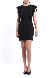 DOLCICIMO Black Silvercollar Dress - Product Mini Image