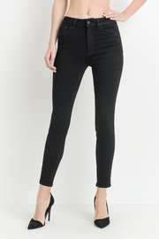 just black Black Skinny Jeans - Product Mini Image