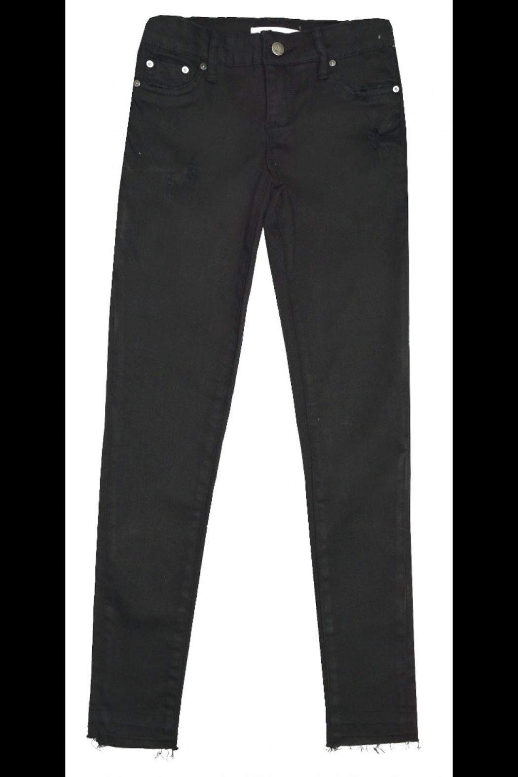 Tractr Black Skinny Jeans - Main Image