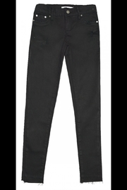 Tractr Black Skinny Jeans - Front cropped