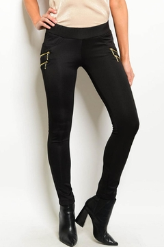 Shoptiques Product: Black Skinny Pants