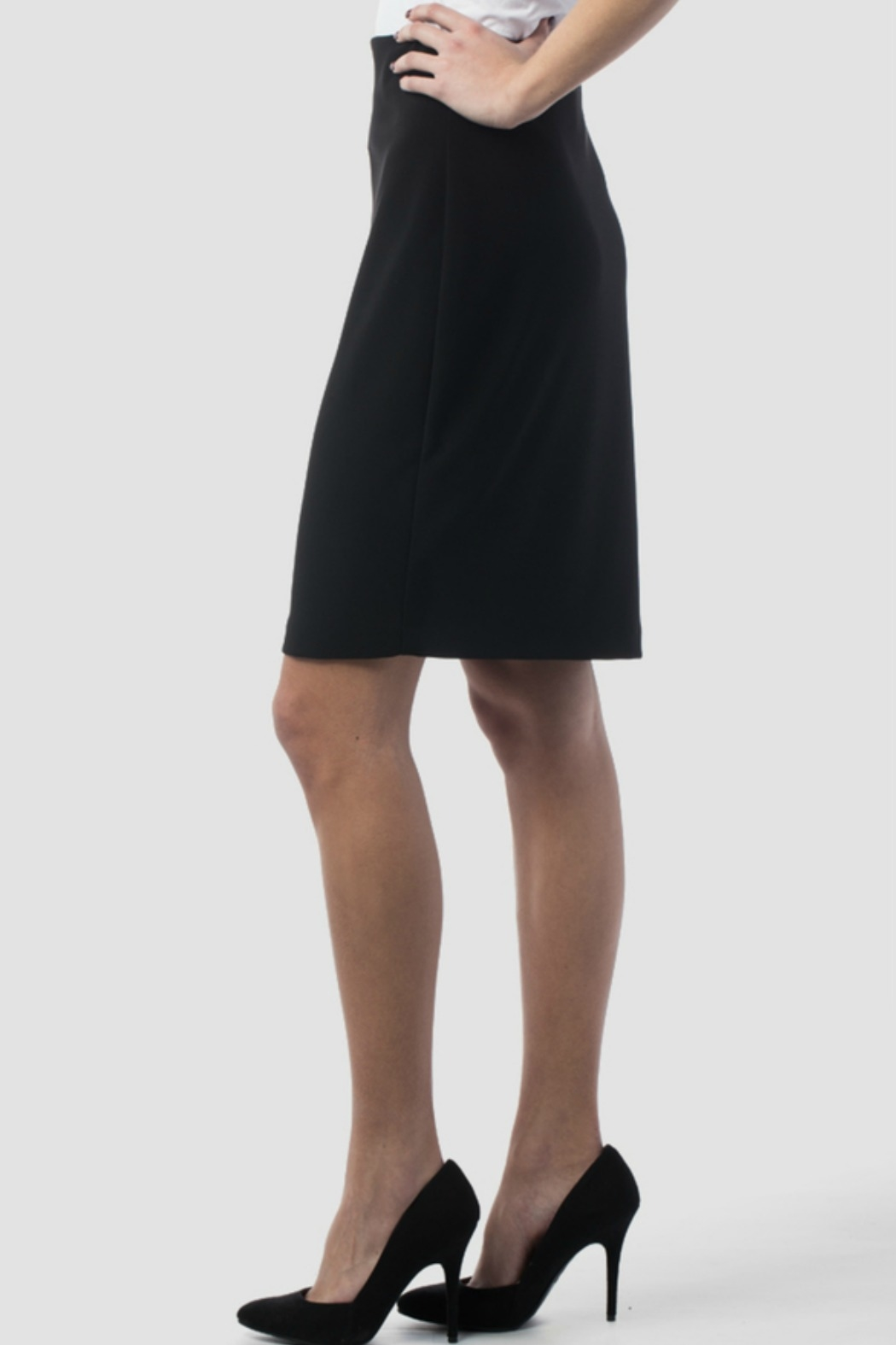 Joseph Ribkoff USA Inc. Black Skirt - Front Full Image