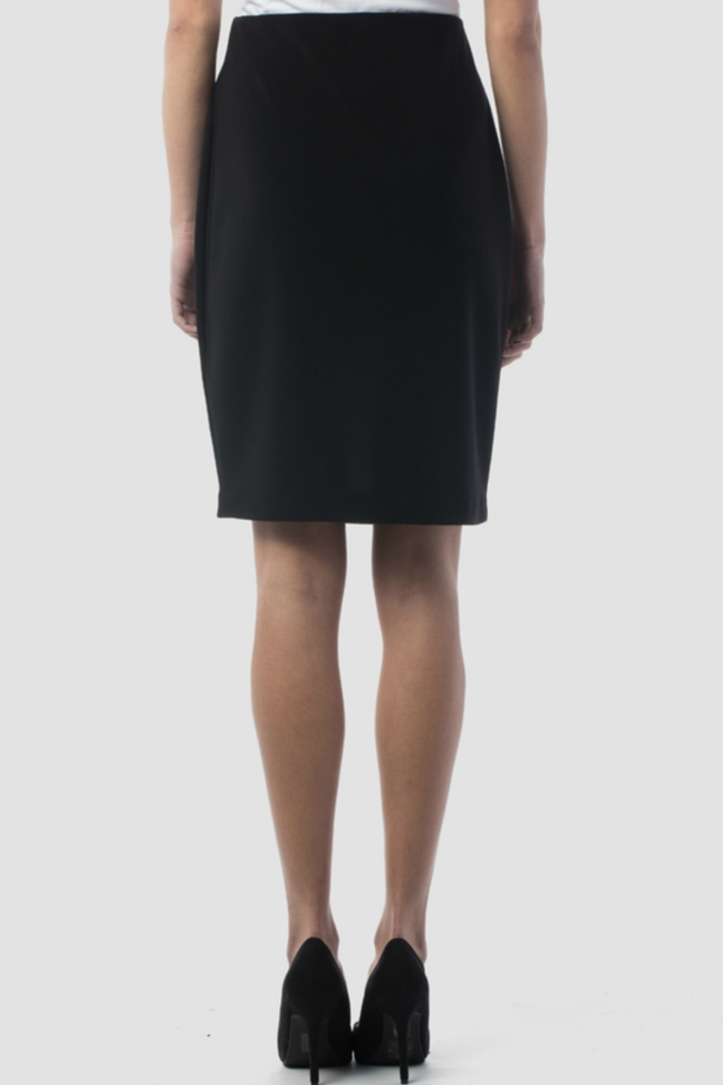 Joseph Ribkoff USA Inc. Black Skirt - Side Cropped Image