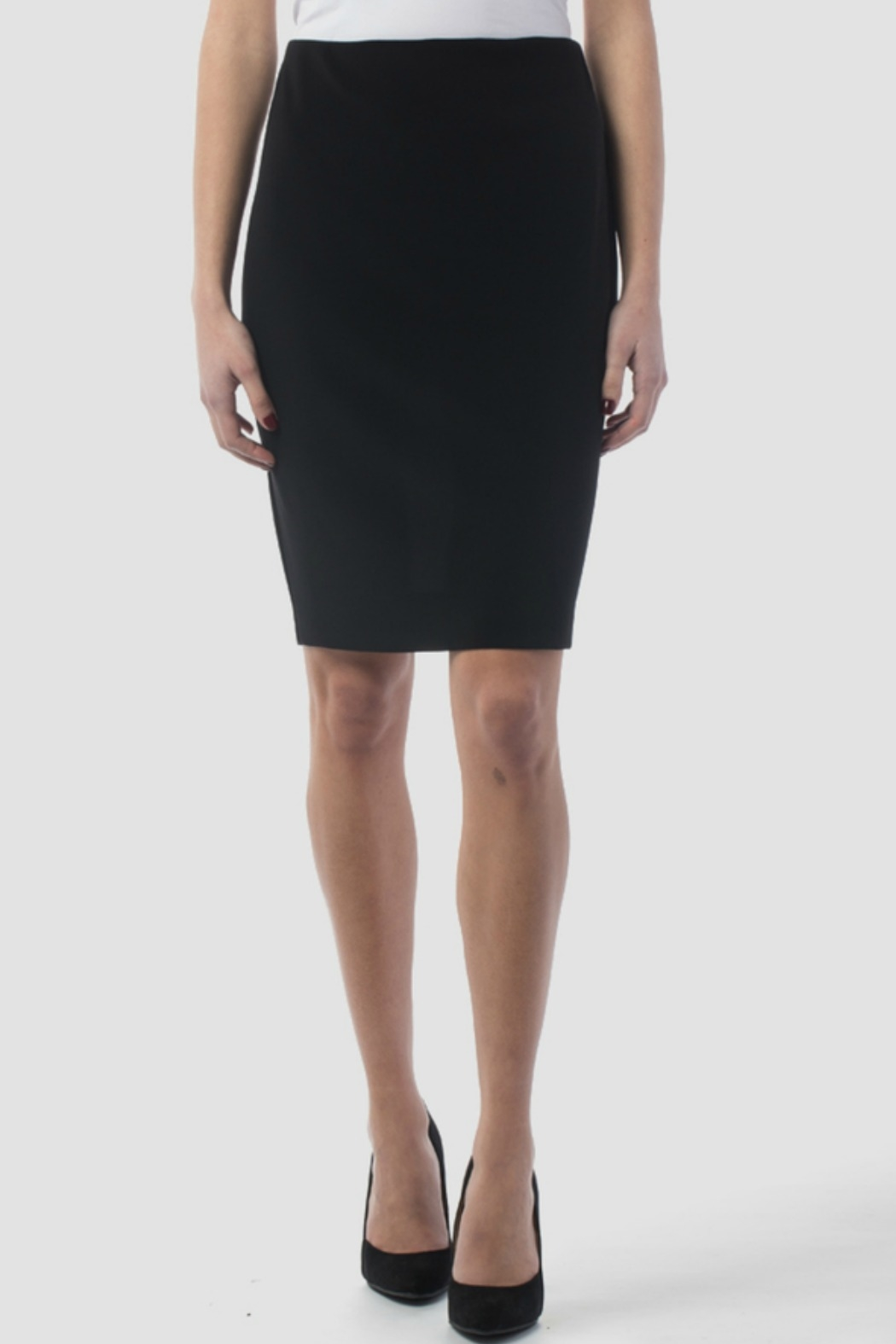 Joseph Ribkoff USA Inc. Black Skirt - Front Cropped Image
