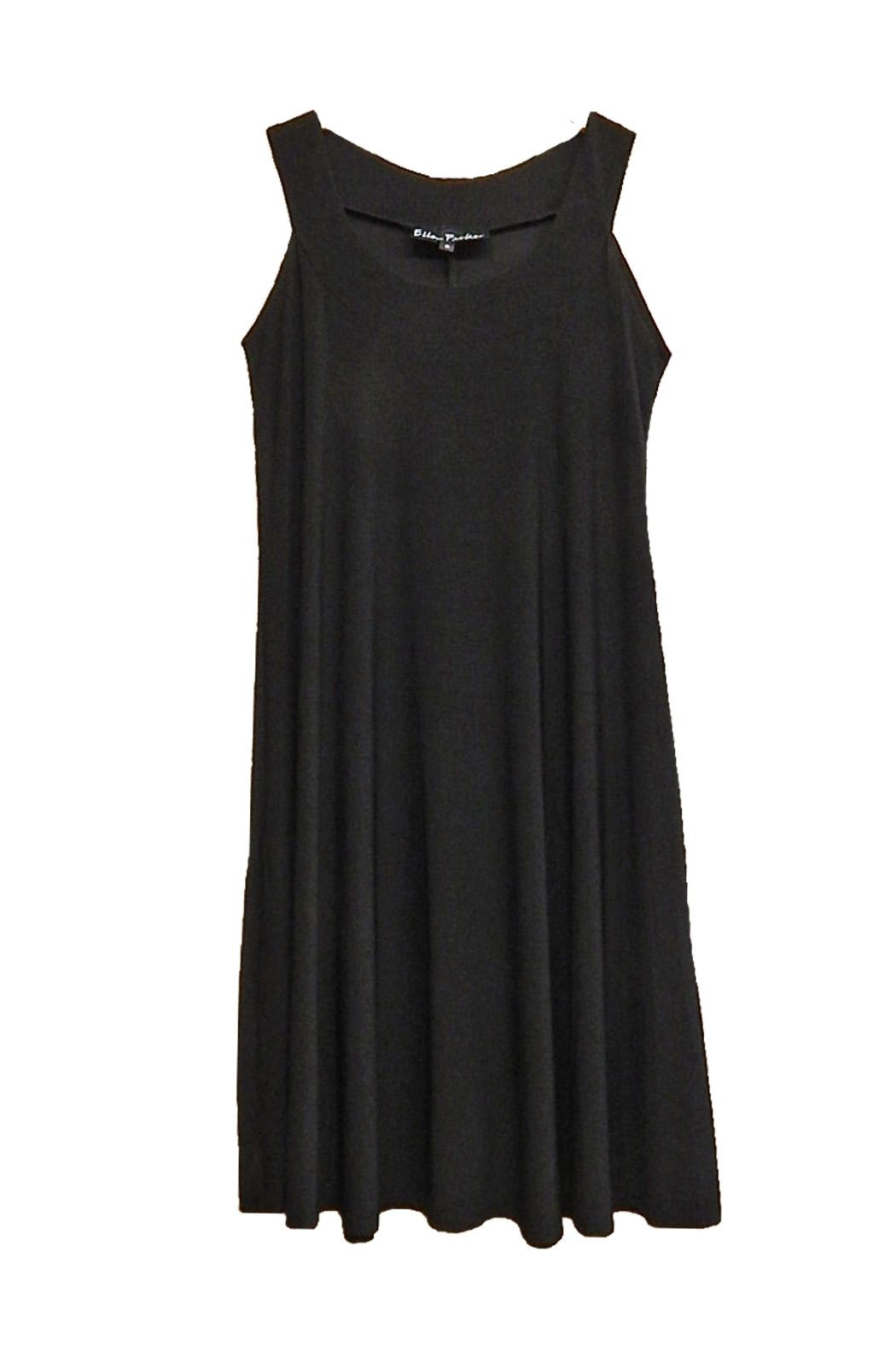 Ellen Parker Black Sleeveless Dress - Front Cropped Image