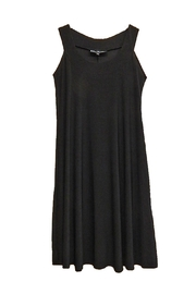 Ellen Parker Black Sleeveless Dress - Front cropped