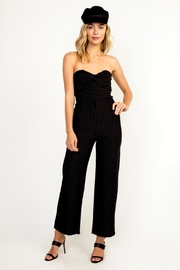 Olivaceous Black Sleveless Jumpsuit - Product Mini Image