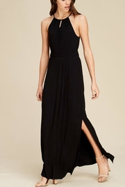 Staccato Black Slit Maxi - Product Mini Image