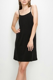Double Zero Black Spaghetti-Strap Dress - Product Mini Image