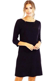 Veronica M Black Sparkle Dress - Product Mini Image
