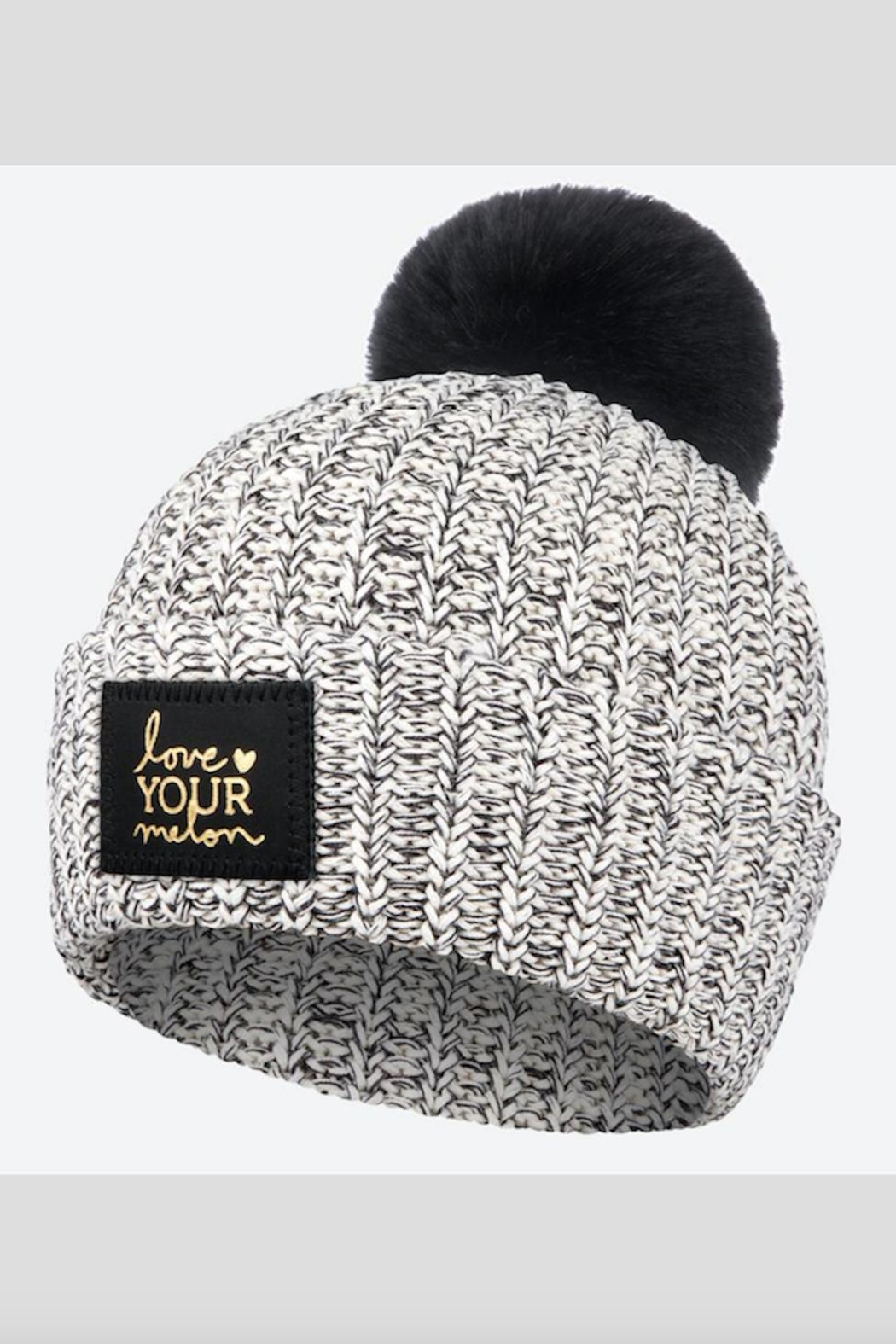 f94546450dc Love Your Melon Black-Speckled Foil Pom from New Jersey by Barefoot ...