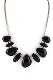 Wild Lilies Jewelry  Black Statement Necklace - Product Mini Image