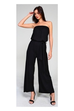 3a619b74b84 ... Fashion District Black Strapless Jumpsuit - Product List Placeholder  Image
