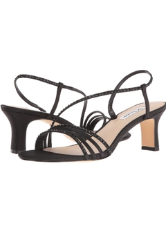 Nina Black Strappy Heel - Product List Image