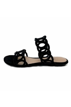 Shoptiques Product: Black Strappy Sandal