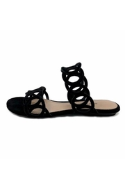 Schutz Black Strappy Sandal - Product Mini Image