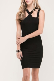 Heart & Hips Black Strapy Dress - Product Mini Image