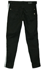 Maryley Black Stretch Pants - Front full body