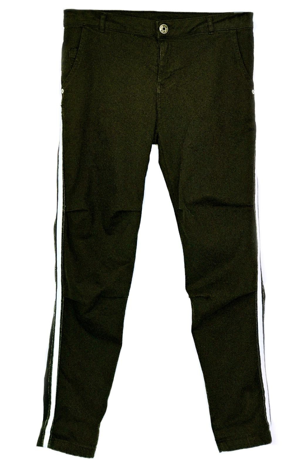 Maryley Black Stretch Pants - Main Image