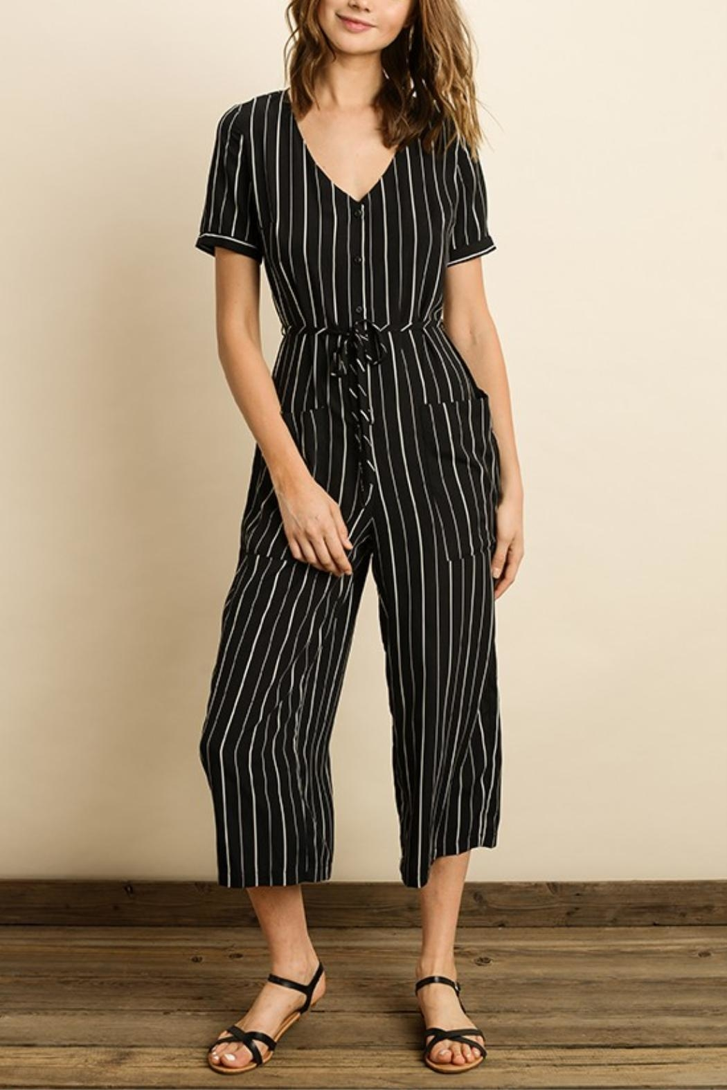 562eeed2bd47 dress forum Black Striped Jumpsuit from California by Apricot Lane ...