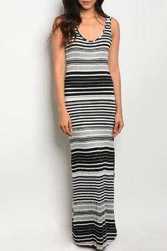 My Beloved Black Striped Maxi - Product List Image