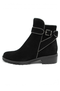 Shoptiques Product: Black Studded Booties