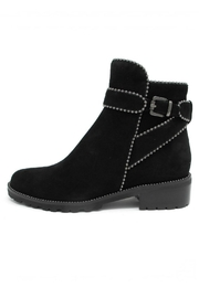 Vaneli Black Studded Booties - Product Mini Image