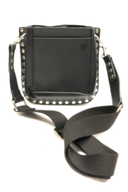 INZI Bags Black Studded Crossbody - Product Mini Image