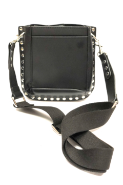 INZI Bags Black Studded Crossbody - Product List Image