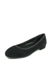 Vaneli Black Suede Ballet - Product Mini Image