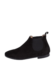 Pascucci Black Suede Bootie - Front cropped