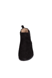 Pascucci Black Suede Bootie - Side cropped