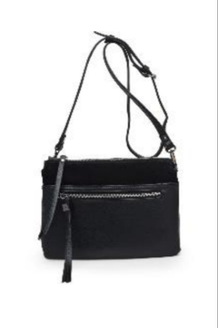 Street Level Black Suede Crossbody - Alternate List Image