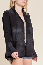 Vocal Black Suede Jacket - Product Mini Image