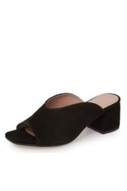 Wonders Black Suede Slide - Product Mini Image